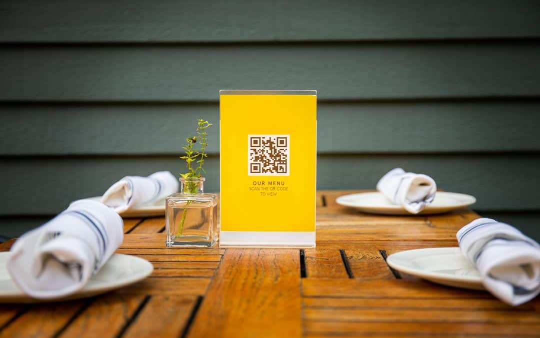 QR Codes Are The Key To Self-ordering In A Pandemic